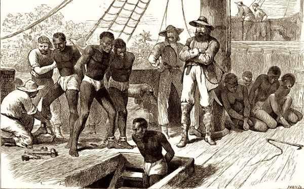 pemerdagangan hamba afrika