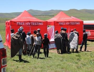 pemeriksaan hiv percuma di lesotho