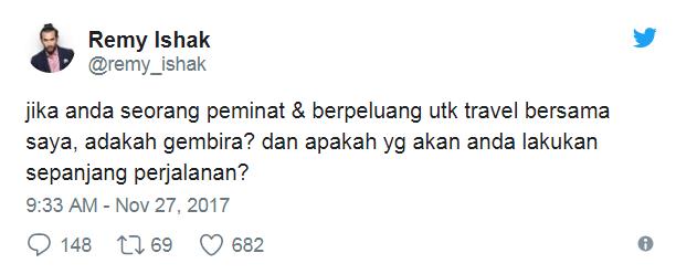 peminat terkedu baca tweet luahan fathia latiff kepada remy ishak 2