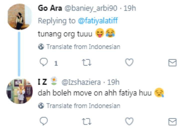 peminat terkedu baca tweet luahan fathia latiff kepada remy ishak 4