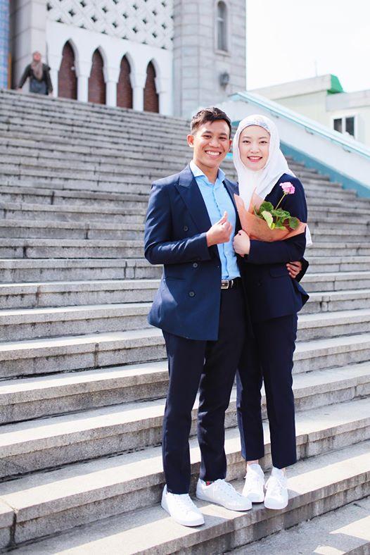 pemuda kelantan fasih bahasa korea kahwini gadis korea 1