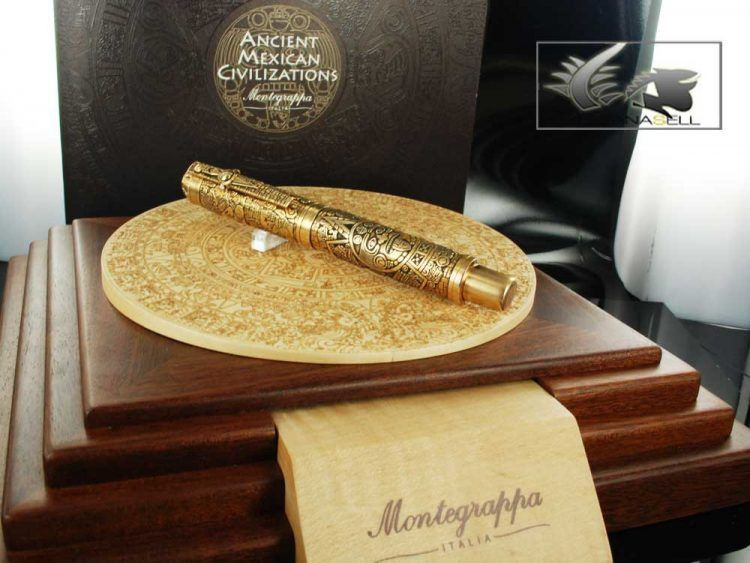 pen ancient mexican civilisations rollerball montegrappa