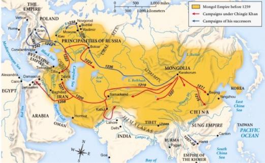 penaklukan mongol