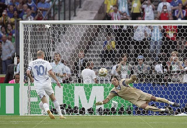 penalti zidane menentang itali akan sentiasa diingati