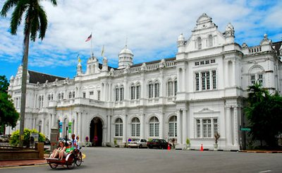 penang city hall in george town penang island