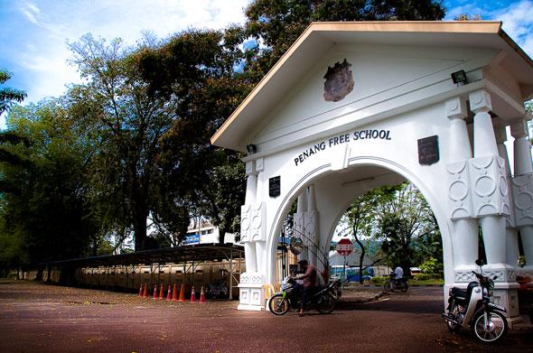 penang free school di penang yang ditubuhkan pada 1816 2