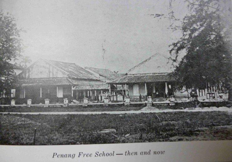 penang free school di penang yang ditubuhkan pada 1816