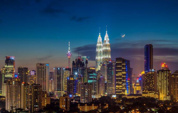 pencakar langit di malaysia