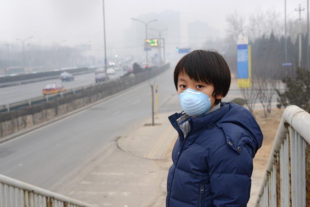 pencemaran udara menyebabkan anak sukar bernafas dan mengalami masalah respiratori