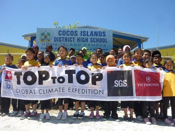 pendidikan di pulau cocos