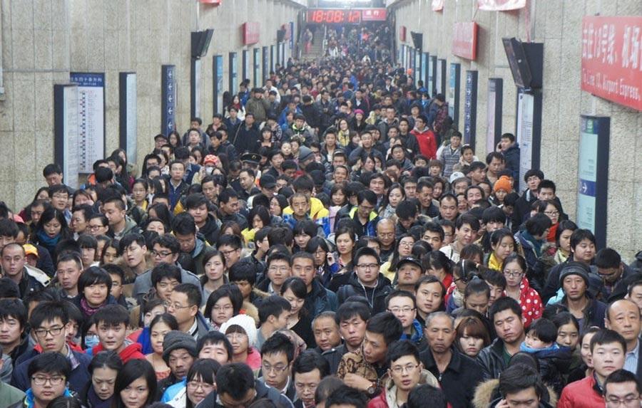penduduk china yang ramai