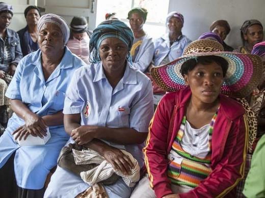 penduduk swaziland mendapat rawatan susulan