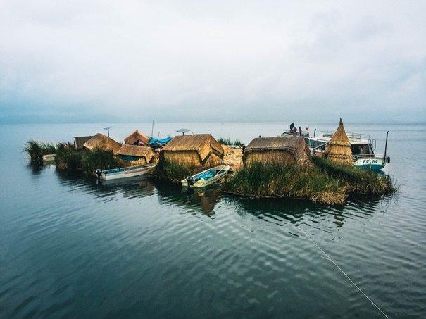 penempatan pulau terapung