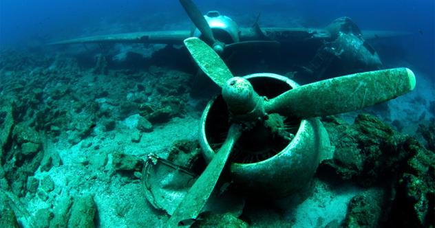 penemuan barangan pelik dasar laut