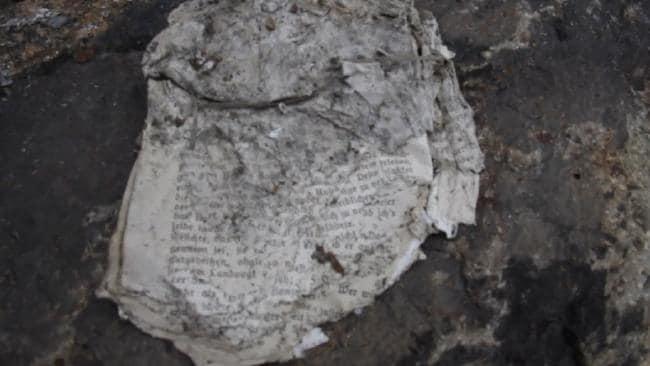 penemuan dokumen rahsia