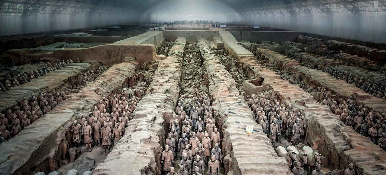 penemuan tentera terracotta di china