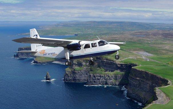 penerbangan dari connemara ke inishmaan ke 5 paling pendek di dunia 2