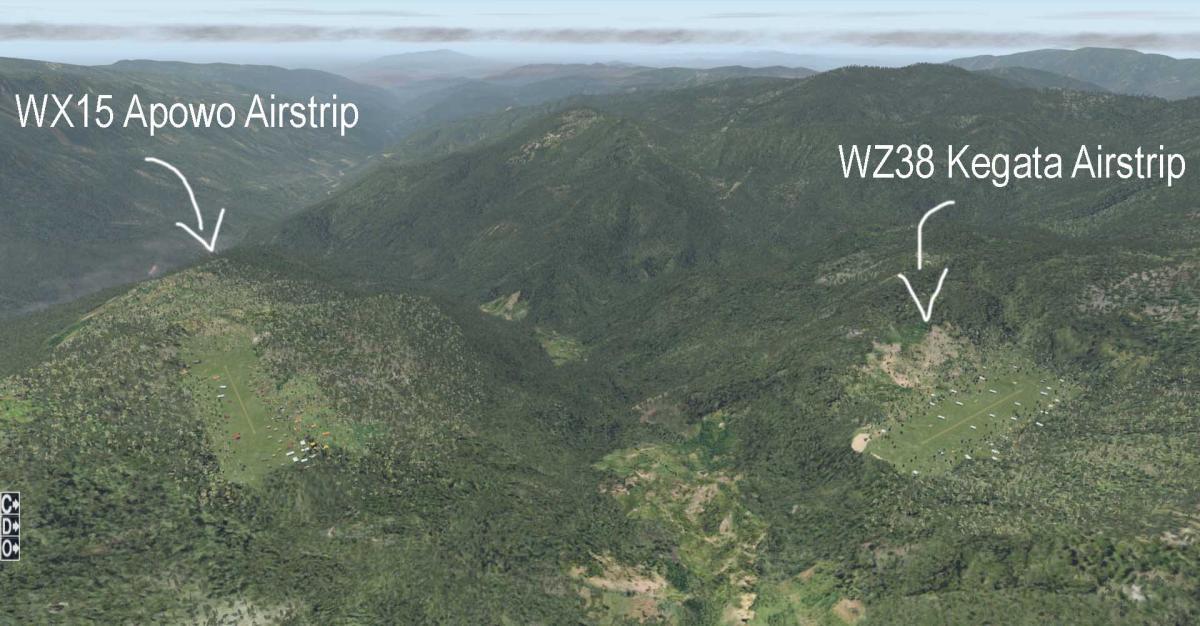 penerbangan dari kegata ke apowo ke 2 paling pendek di dunia 2