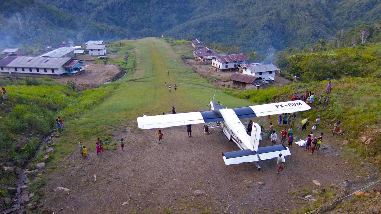 penerbangan dari kegata ke apowo ke 2 paling pendek di dunia