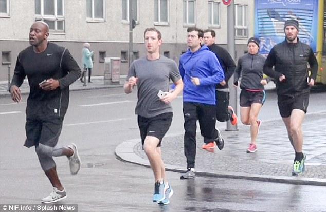pengawal keselamatan mark zuckerberg