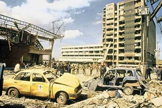 pengeboman bangunan das