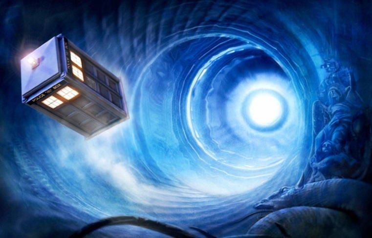 pengembaraan masa melalui wormhole