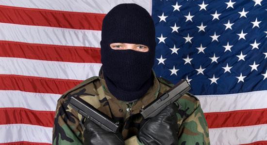 pengganas sebenar datang dari amerika donald trump terrorist