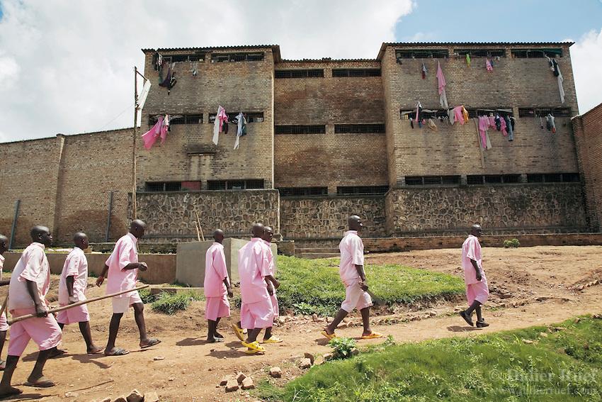 penjara pusat gitarama rwanda