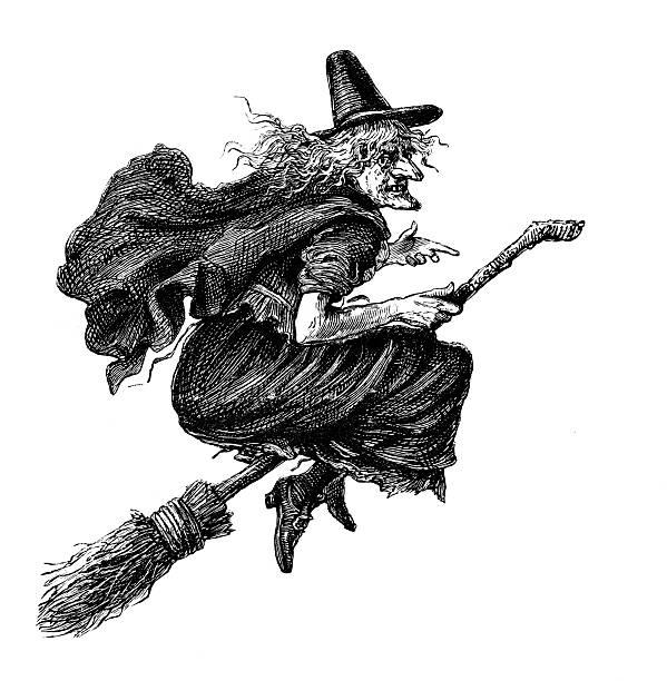 penyapu terbang ahli sihir
