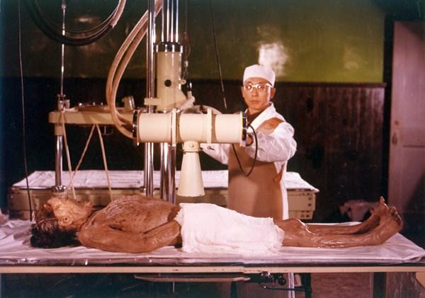 penyelidik mengkaji mayat xin zhui