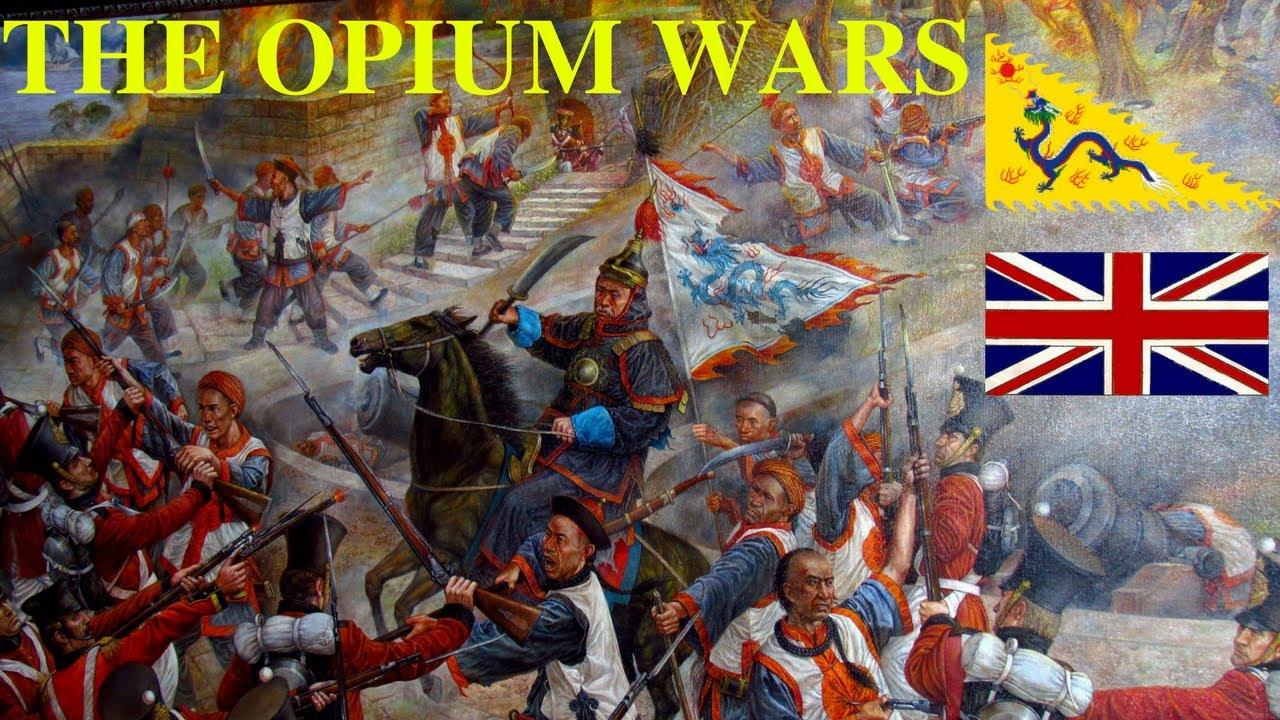 peperangan opium pegasingan hong kong daripada china