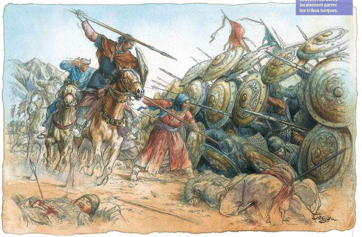 peperangan talas dan penyebaran kertas ke timur tengah