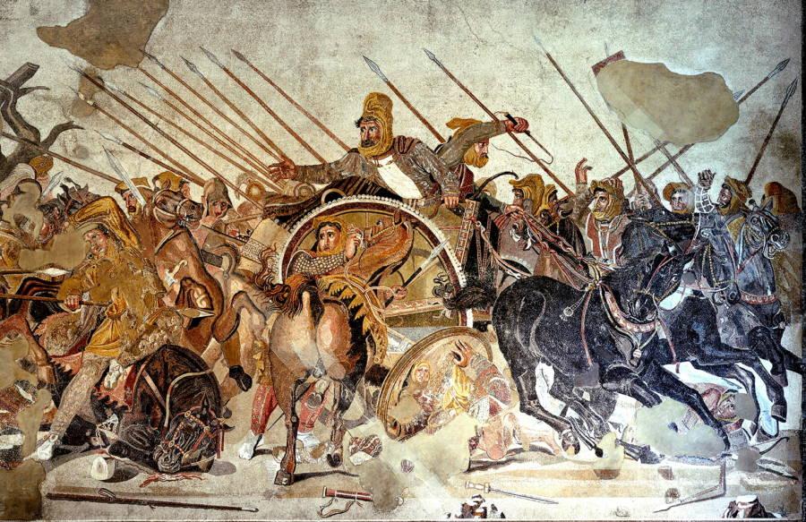 perang antara greece dengan persia