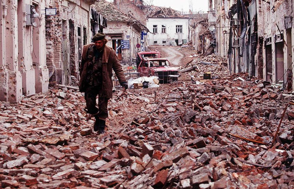 perang di croatia