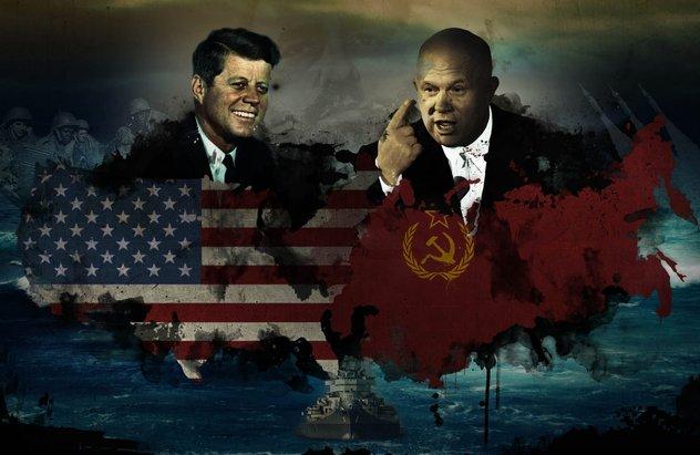 perang dingin antara kesatuan soviet dan amerika syarikat