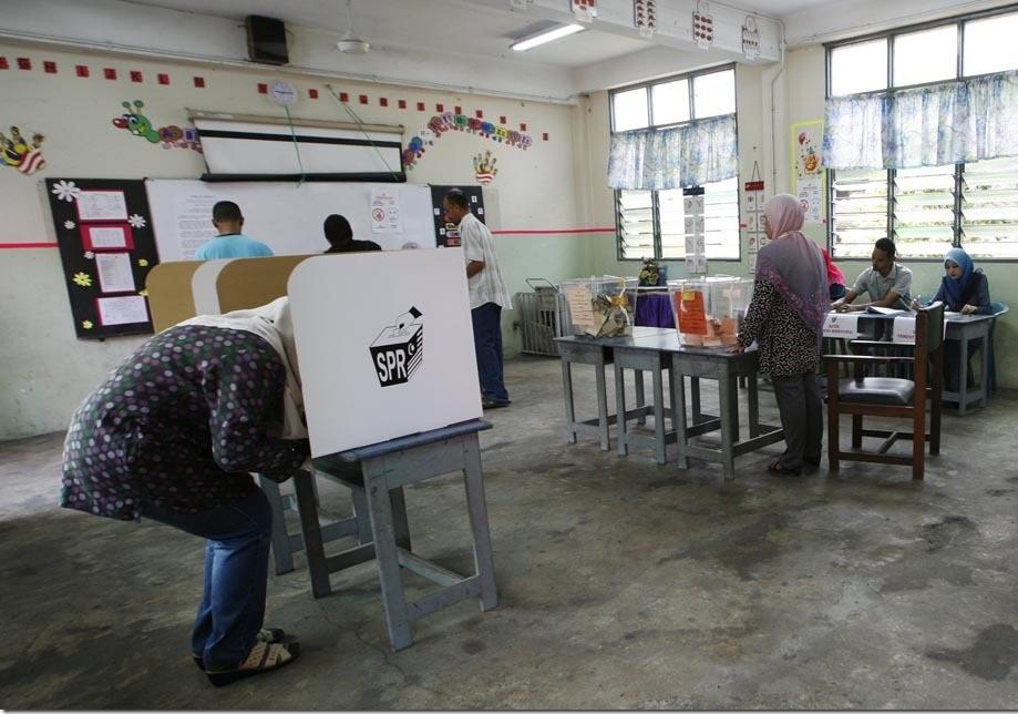 peraturan dan cara mengundi pilihanraya umum 0