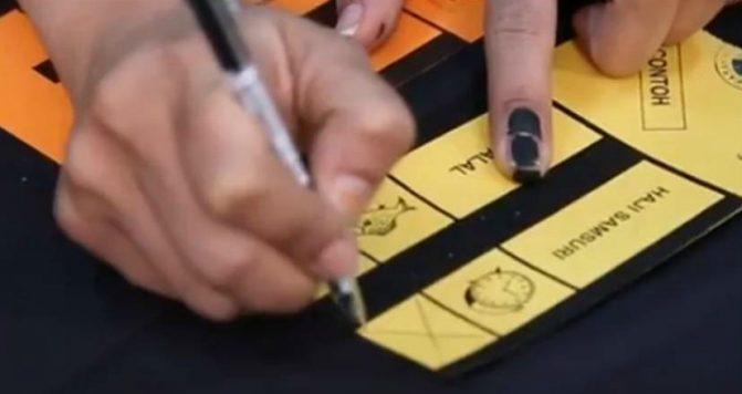 peraturan dan cara mengundi pilihanraya umum 6