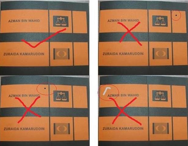 peraturan dan cara mengundi pilihanraya umum