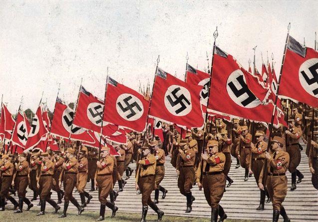perbarisan tentera nazi