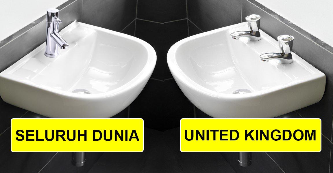 perbezaan sistem paip sinki di uk dan seluruh dunia