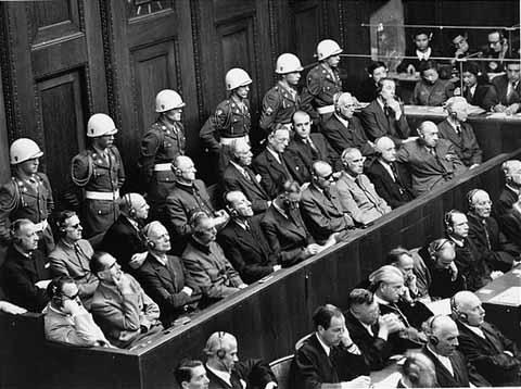 perbicaraan nuremberg selepas tamat perang dunia kedua