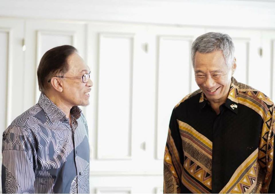 perdana menteri singapura dedah siapa anwar ibrahim
