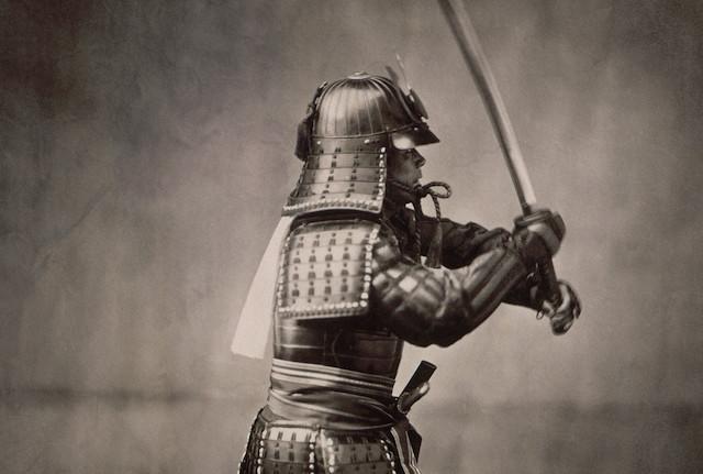 perisai samurai