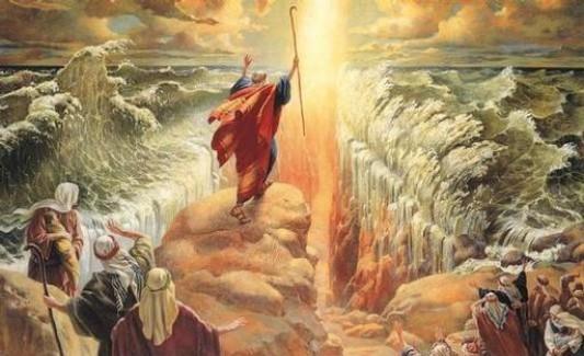 peristiwa nabi musa membelah laut