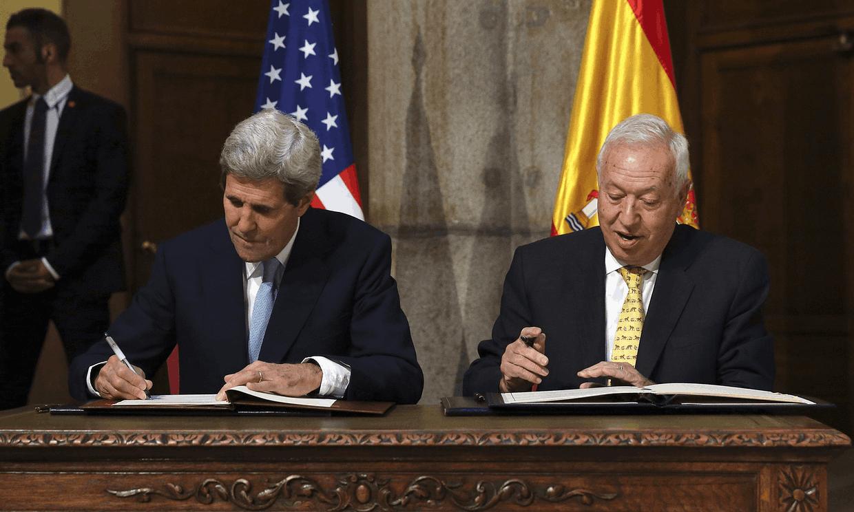 perjanjian di antara sepanyol dan amerika syarikat bom nuklear 2015