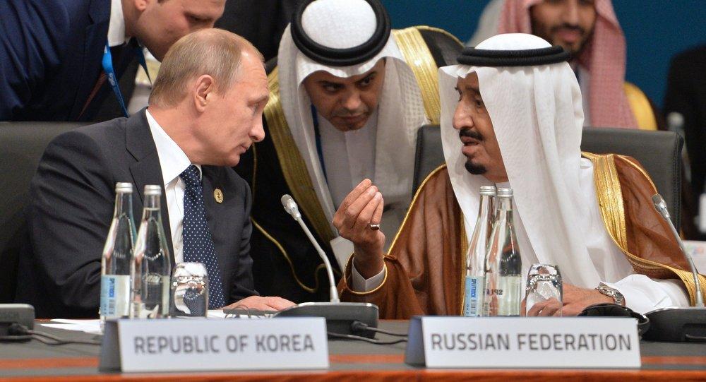 perjanjian saudi dengan russia