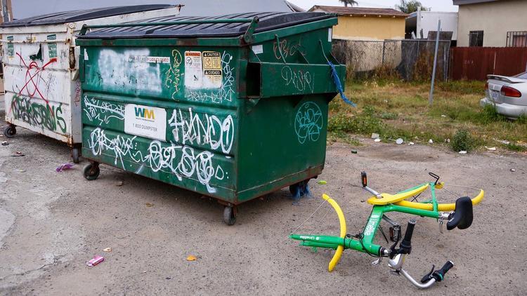 perkhidmatan sewa basikal