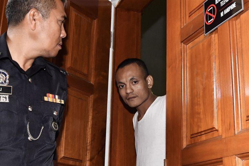 perkosa sembelih dan bunuh suri rumah penganggur dihukum gantung sampai mati