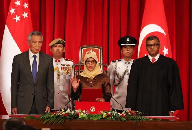 perlantikan halimah yacob sebagai presiden 431