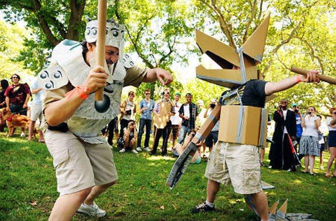 perlawanan pedang kadbod